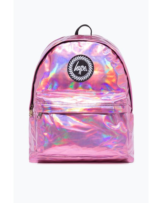 Hype Hype Pink Holographic Backpack