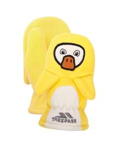Trespass Childrens Unisex Quack Fleece Mittens
