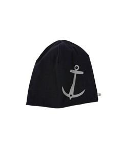 Em Anchor Beanie Navy Reflex Navy