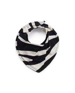 Dry Bib-zebra Sunshine White/black