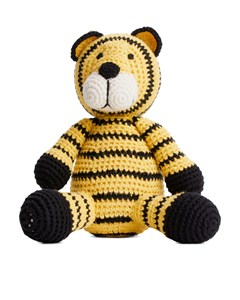 Tiger Squeaker Yellow