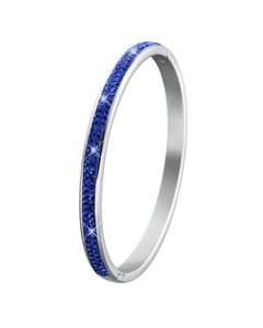 Stalen Kinderarmband Sapphire Kristal