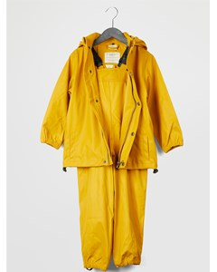 Gate Rainwear Set W/ Suspenders 02-02 Nugget Gold