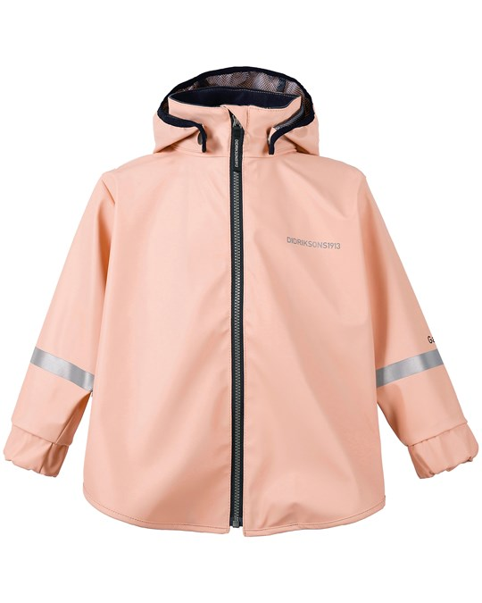 Didriksons Edlyn Kids Cape Powder Pink