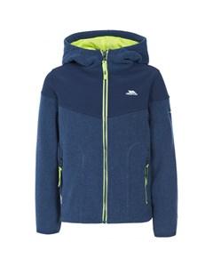 Trespass Childrens Boys Bieber Full Zip Fleece Jacket