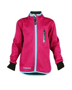 Wind Fleece Jacket Jr Neon Pink/turquoise