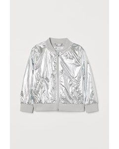 Bomberjacka Silver