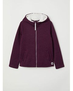 Fluff Knitted Fleece Purple