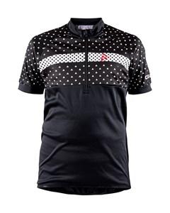 Bike Jersey J - Black/white