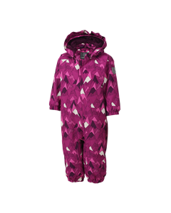 Rimah Mini Padded Coverall Aop Berry