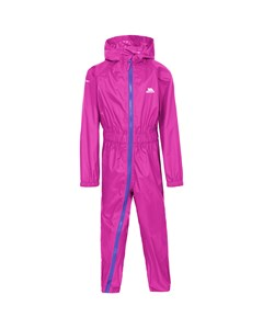 Trespass Childrens/kids Button Ii Rain Suit