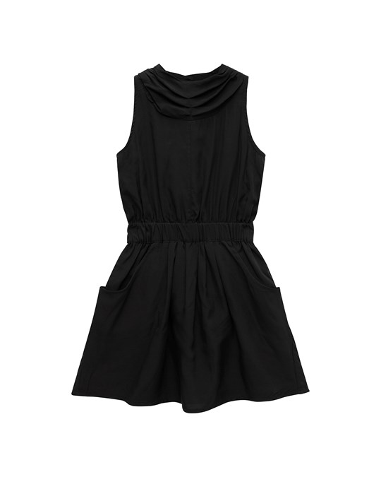 How to Kiss a Frog Poki Dress Black
