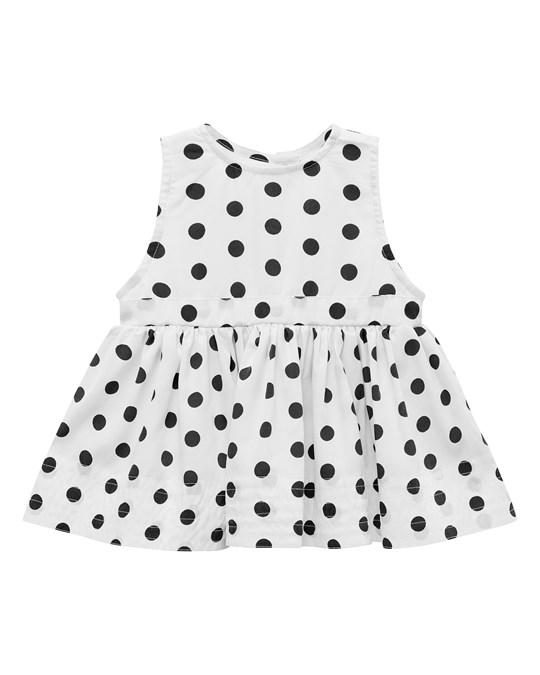 How to Kiss a Frog Ninni Dress White Dot