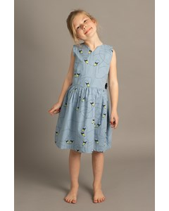 Em Sandy Dress Kids Swan Friends Blue