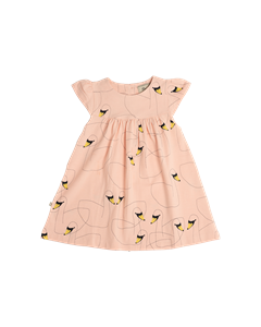 Em Lilly Dress Swan Friends Pink