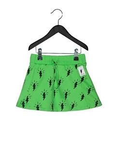 Flash Allover Skirt Green