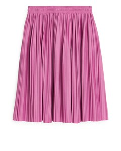 Pleated Skirt Pink