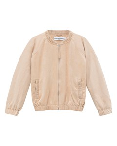 Betty Jacket Beige Faux Suede