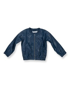 Betty Jacket Blue Faux Leather