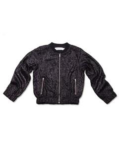 Sparkle Jacket Black Sequins