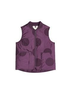 Padded Vest Purple
