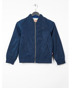 Rev. Jacket Ted Dress Blue