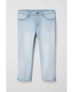 Capri Skinny Fit Jeans Ljus Denimblå