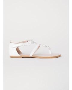 Cady Sandal White