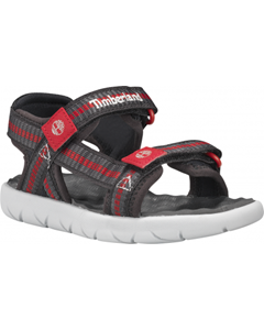 Perkins Row Webbing Sandal Red