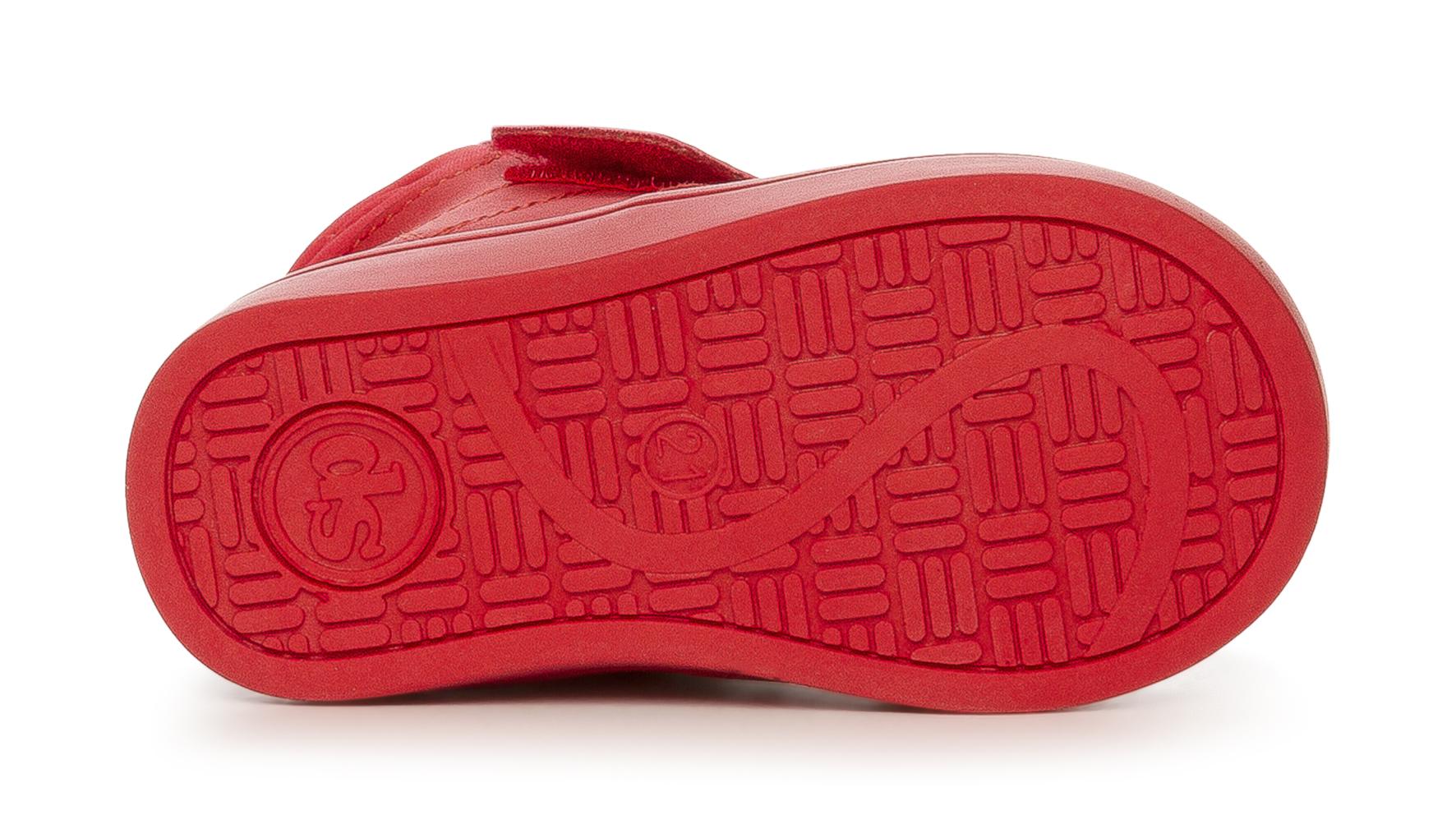 Röd Algot Sneakers Röd Algot Sneakers Skinn Röd Skinn