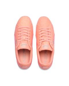 Puma Vikky Platform Glitz Jr Pink