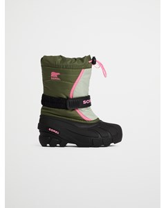Childrens Flurry™ Hiker Green, Bubblegum