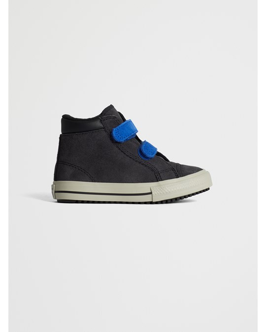 Converse Ctas 2v Pc Boot Hi  Almost Black/blue