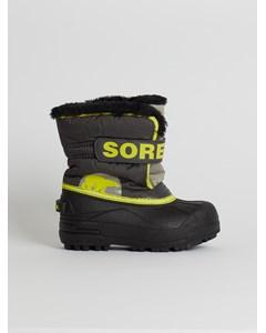 Childrens Snow Commander™ Dark Grey, Warning Yellow