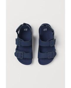 Sandaler Marinblå