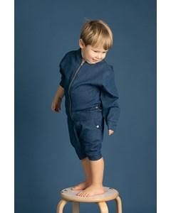 Em Henry Shorts Jeans Demin Blue