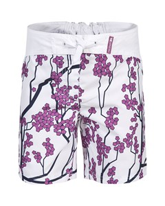 Trespass Childrens Girls Mabel Lightweight Patterned Board Shorts