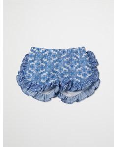 Mini Leona Shorts Ocean Breeze