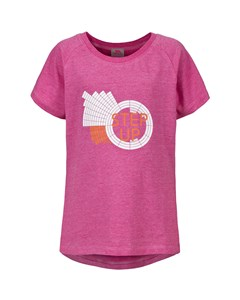 Trespass Childrens Girls Elva Short Sleeve T-shirt