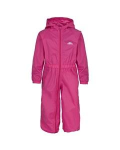 Trespass Childrens/kids Button Waterproof Rain Suit