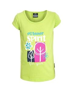 Trespass Kinder T-Shirt Wallflower kurzärmlig