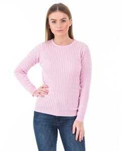 Victory Cable Knit Rosa