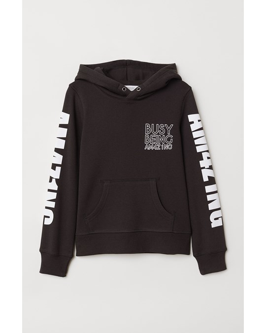 H&M Perfect Hood Black