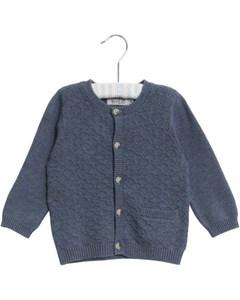 Knit Cardigan Ricardo 1303 Greyblue Melange