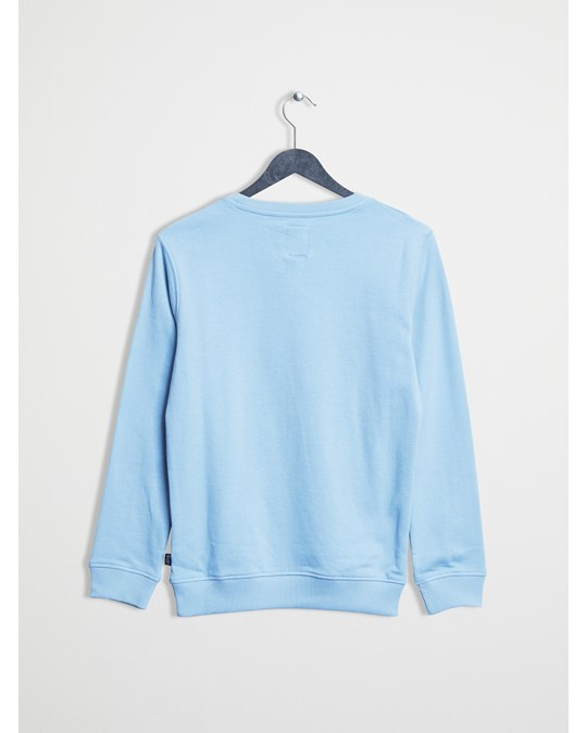 Franklin & Marshall F And M Sweater  Ocean Blue
