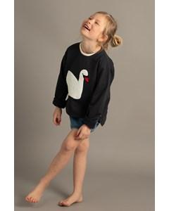 Em Loee Sweater Swan Navy