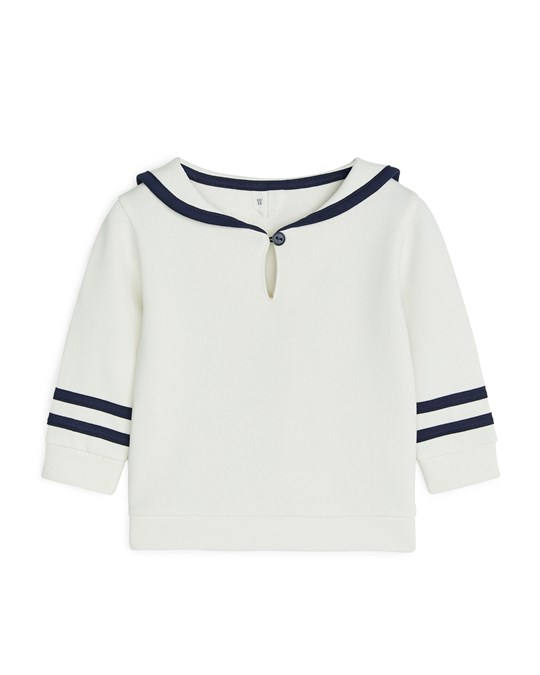 Arket Sweater White