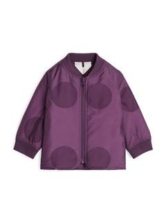 Liner Jacket Purple