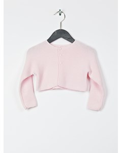 Pull, Gilet (tricot) Rose