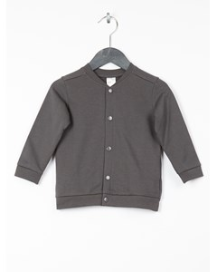 Sweatshirt Cardigan Grey